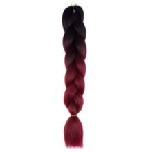 Afro ombre szintetikus haj #5