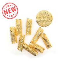 Hajékszer hajgyűrű hajlítható arany 5db #2