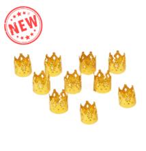 Hajékszer hajgyűrű korona arany 10db
