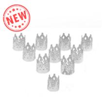 Hajékszer hajgyűrű korona ezüst 10db