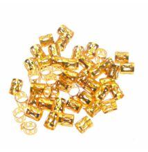 Hajékszer hajgyűrű arany 10db