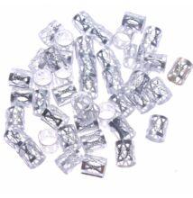 Hajékszer hajgyűrű ezüst 10db
