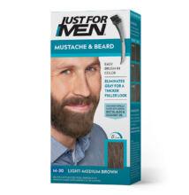 Just for Men Mustache & Beard szakáll és bajusz színező - M-30
