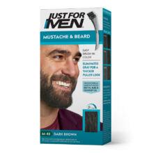 Just for Men Mustache & Beard szakáll és bajusz színező - M-45