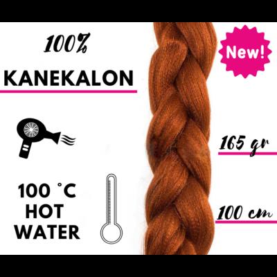 Afro szintetikus 100% kanekalon haj 165g - 350