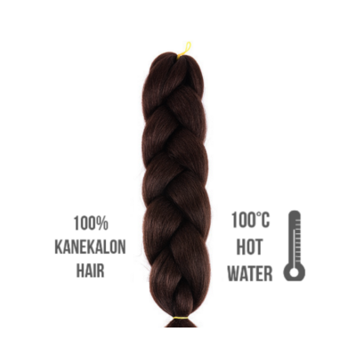Afro szintetikus 100% kanekalon haj 85gr #6