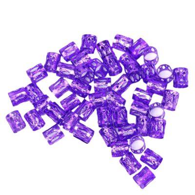 Hajékszer hajgyűrű lila