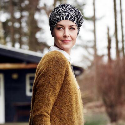 Christine Lotus mintás turbán 1008-0501