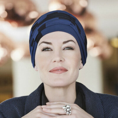 Christine Karma mintás turbán 1009-0440