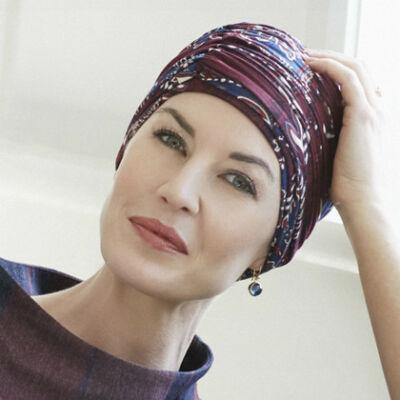 Christine Karma mintás turbán 1009-0441