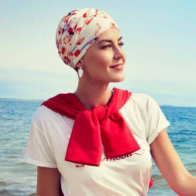 Christine Shakti mintás turbán 1417-594
