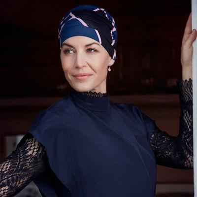Christine Yoga mintás turbán 2000-0499