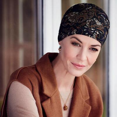 Christine Yoga mintás turbán 2000-0506