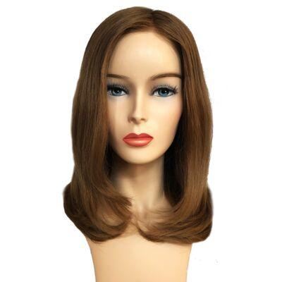 Load 28 cm humán haj paróka - Ginger