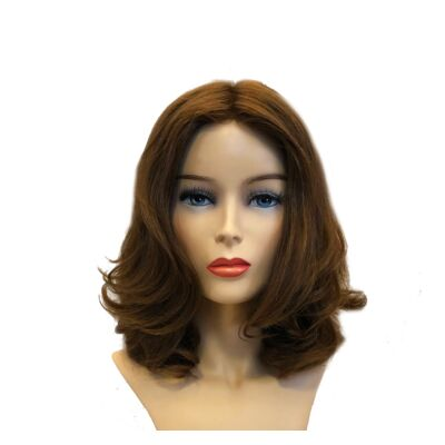 Sara New Wavy 20cm humán haj paróka - M Brown