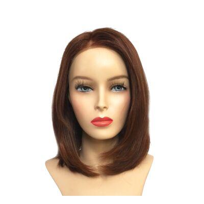 Solo 30 cm humán haj paróka - Safranred
