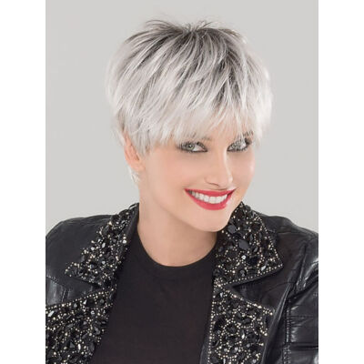 Swing Silver Blonde Rooted paróka