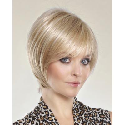 cleopatra short blond rooted paroka