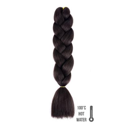 Afro szintetikus haj 2 sötétbarna
