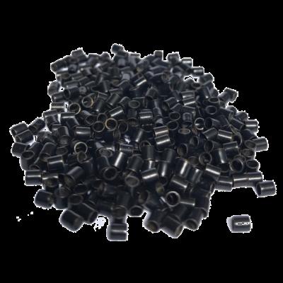 Mikrogyűrű hajhosszabbításhoz nano 2,5mm 1000db fekete