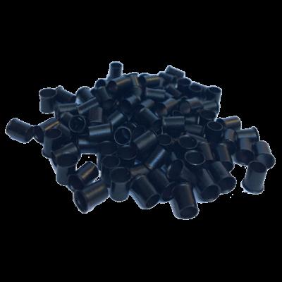Mikrohüvely hajhosszabbításhoz 4mm 100db fekete