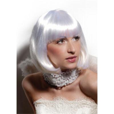 Party paróka Cleopatra fehér