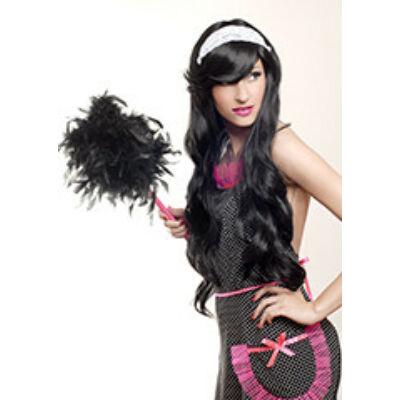 Party paróka Lolita fekete