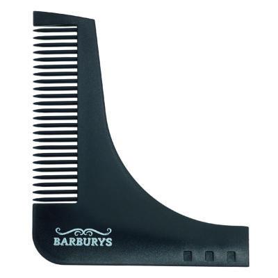 barburys szakáll sablon fésű