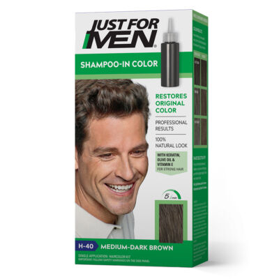 Just for Men Shampoo-In hajszínező - H-40