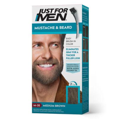 Just for Men Mustache & Beard szakáll és bajusz színező - M-35