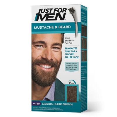 Just for Men Mustache & Beard szakáll és bajusz színező - M-40