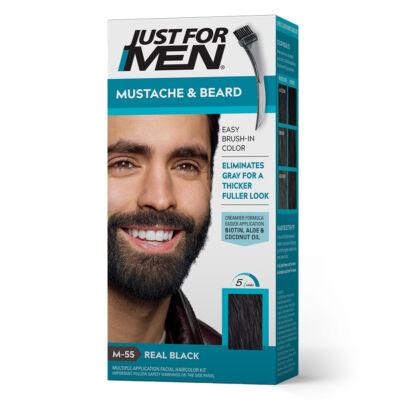 Just for Men Mustache & Beard szakáll és bajusz színező - M-55