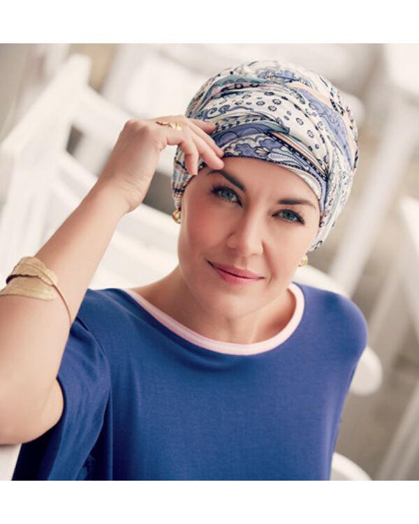 Christine Karma mintás turbán 1009-0523