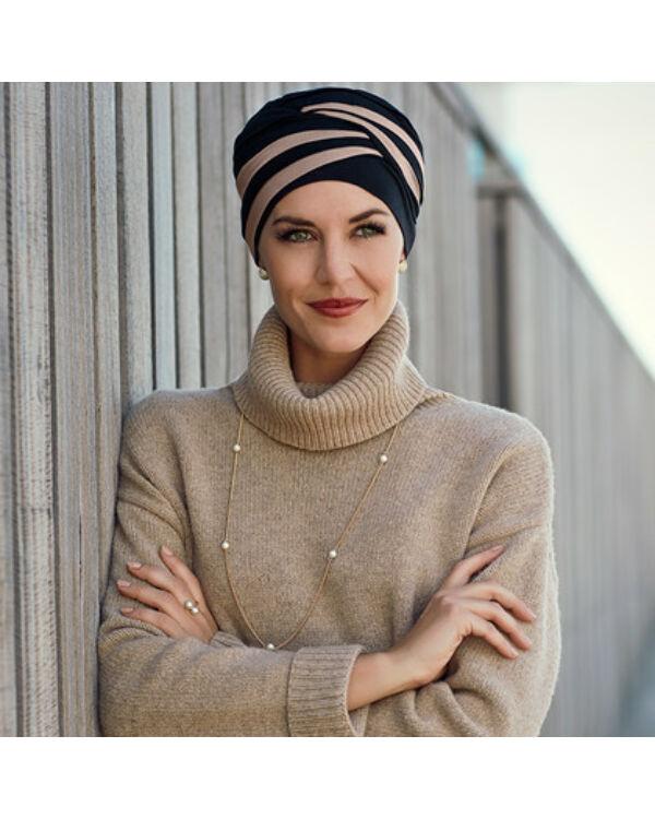 Christine Shanti mintás turbán 1131-0395