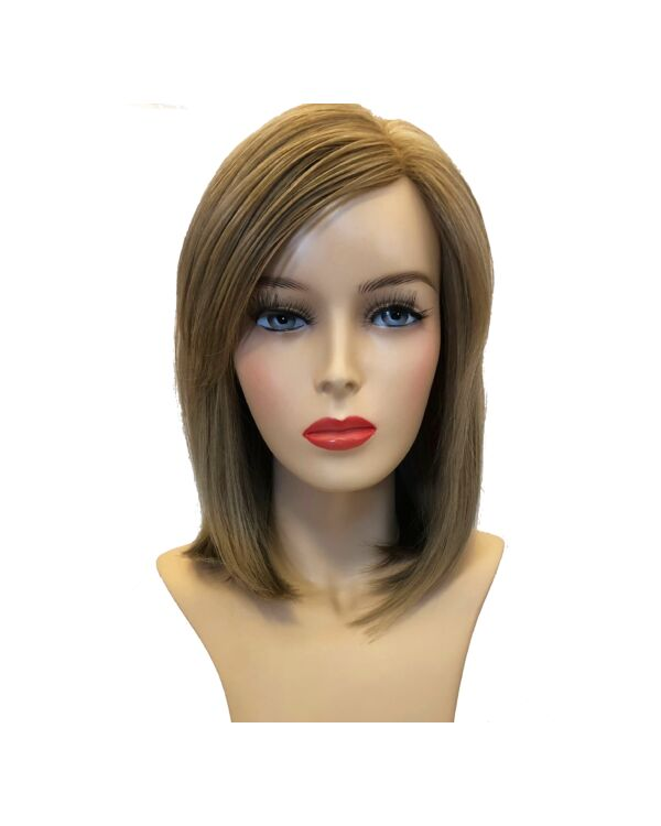 Sara New Sandyblonde humán haj paróka