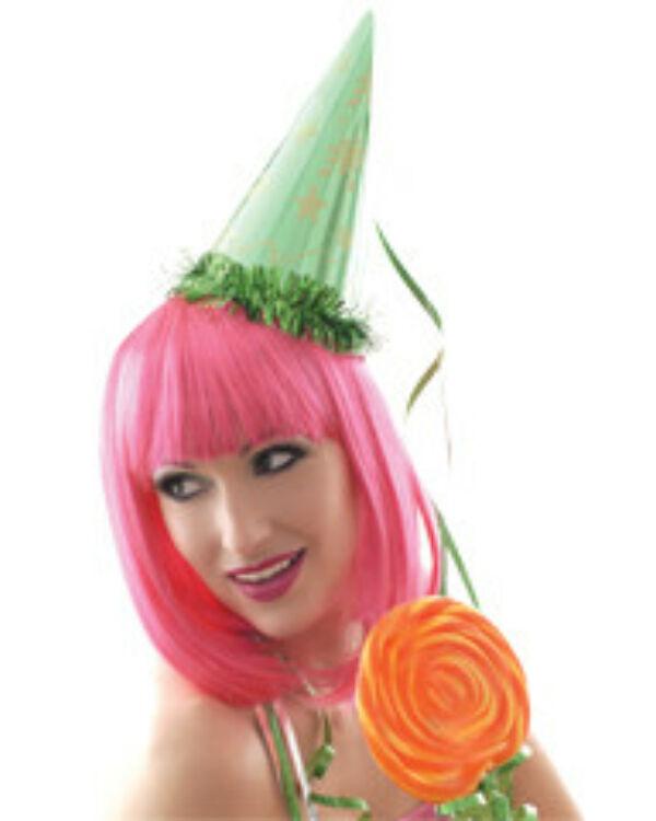 Party paróka Cleopatra UV pink