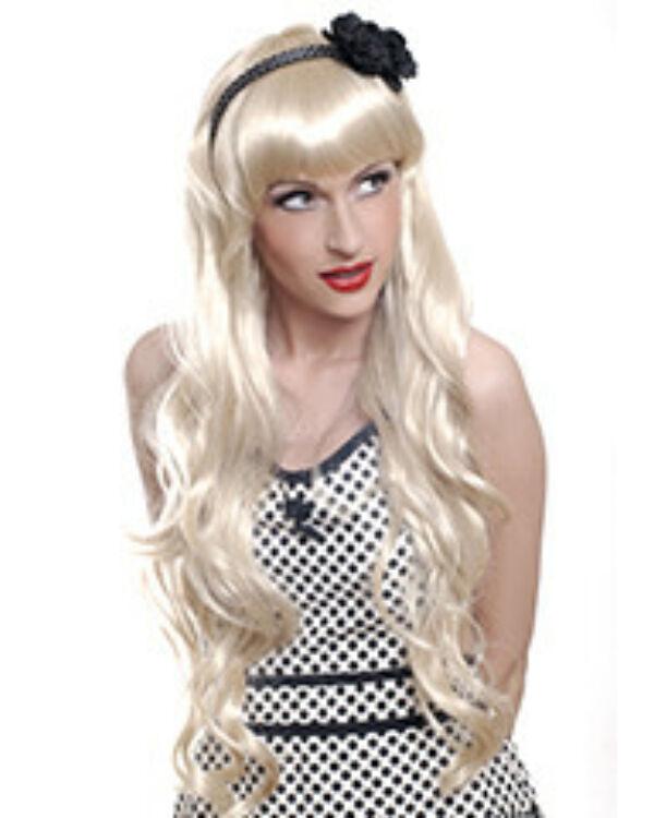 Party paróka Lolita szőke